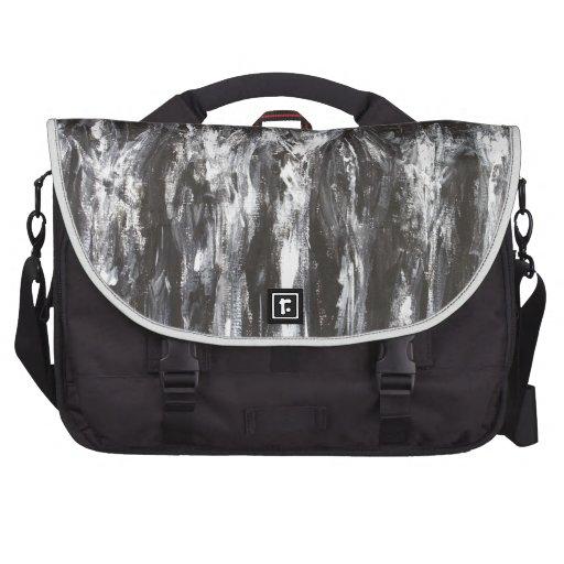 The Black Parthenon (architectural surrealism) Bag For Laptop