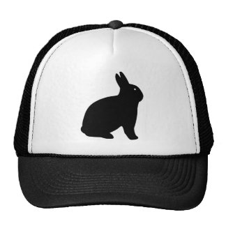 THE BLACK RABBIT TRUCKER HAT