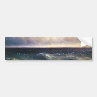 The Black Sea by Ivan Aivazovsky 1881 Bumper Sticker