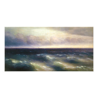 The Black Sea by Ivan Aivazovsky 1881 Customized Photo Card