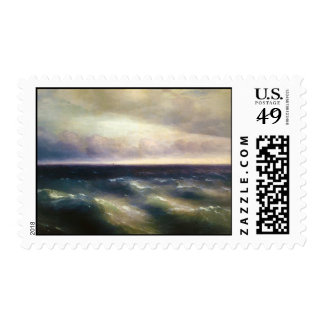 The Black Sea by Ivan Aivazovsky 1881 Postage