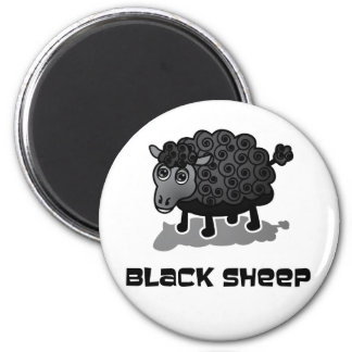 The Black Sheep 2 Inch Round Magnet