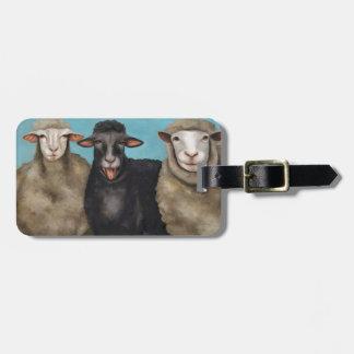 The Black Sheep Bag Tag