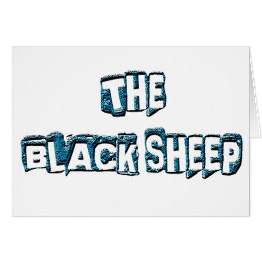 THE BLACK SHEEP CARD