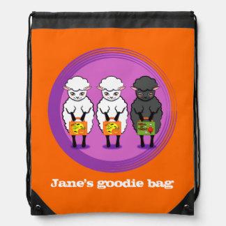 The black sheep cinch bag