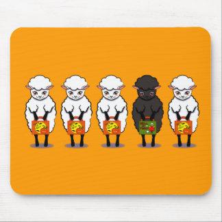 The black sheep Halloween Mouse Pad