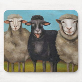 The Black Sheep Mouse Pad