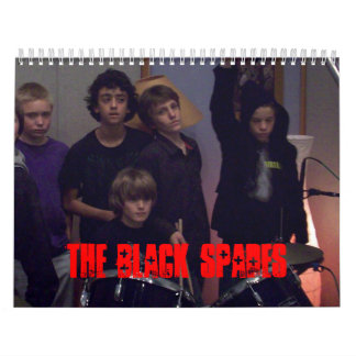 The Black Spades new 2008 Calender Calendar