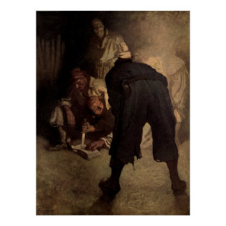 The Black Spot - N C Wyeth Posters