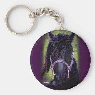 The Black Stallion Key Chain
