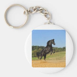 The Black Stallion Keychain