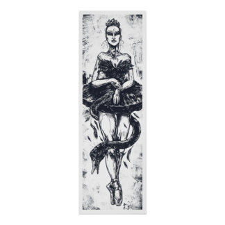The Black Swan Print