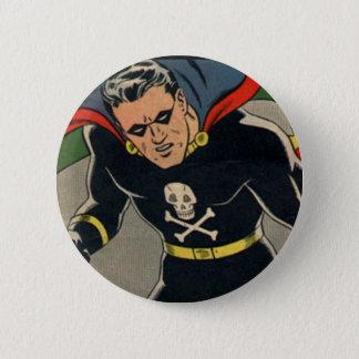 The Black Terror! Pinback Button