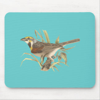 The Black-throated Bunting (Emberiza americana) Mouse Pad