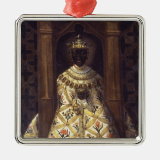 The Black Virgin in the Chadaraita Metal Ornament
