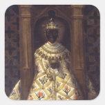 The Black Virgin in the Chadaraita Sticker