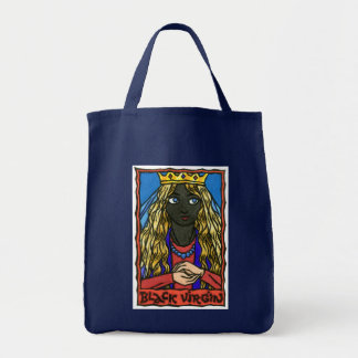 The Black Virgin Tote Bag