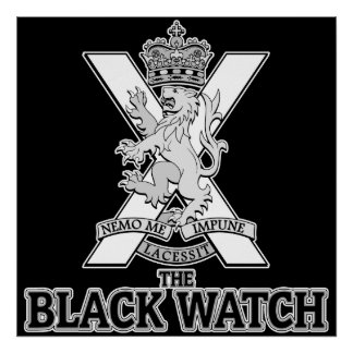 The Black Watch - 3rd Battalion Poster