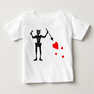 The Blackbeard Authentic Flag Baby T-Shirt