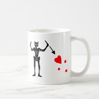 The Blackbeard Authentic Flag Coffee Mug
