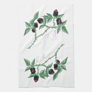 The Blackberry Patch... American MoJo Kitchen Towe Hand Towel