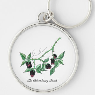 The Blackberry Patch... Keychain