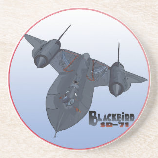 The Blackbird Drink Coaster