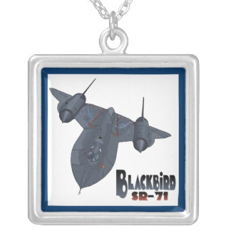 The Blackbird Silver Plated Necklace