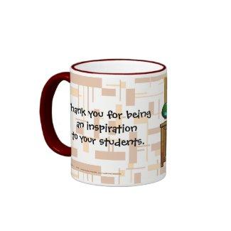 The Blackboard Of Life mug