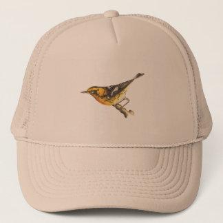 The Blackburnian Warbler(Sylvicola blackburniae) Trucker Hat