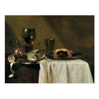 The Blackcurrant Tart, 1635 Postcard