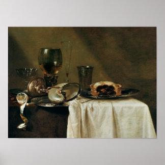 The Blackcurrant Tart, 1635 Poster