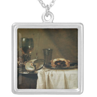The Blackcurrant Tart, 1635 Silver Plated Necklace