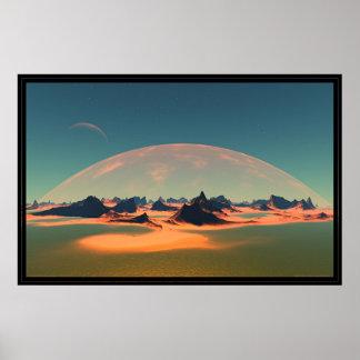 The Blackfire Beaches of Nereid Poster