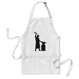 The blacksmith adult apron