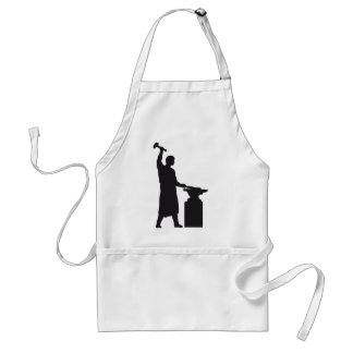 The blacksmith apron