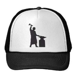 The blacksmith trucker hat