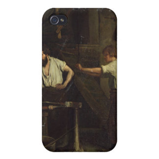 The Blacksmiths, Memory of Treport, 1857 iPhone 4 Cases