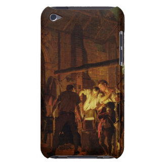 The Blacksmith's Shop (oil on canvas) iPod Touch Case-Mate Case