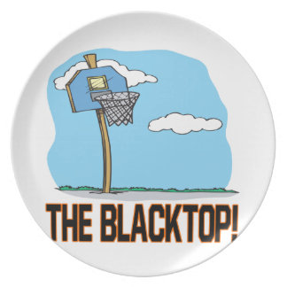 The Blacktop Melamine Plate