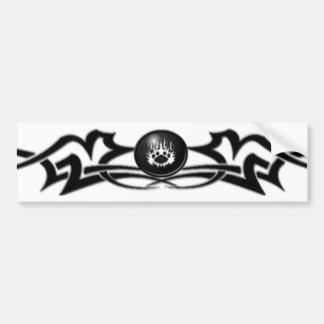 The Blackwolf Clan: Tribal Bumper Sticker