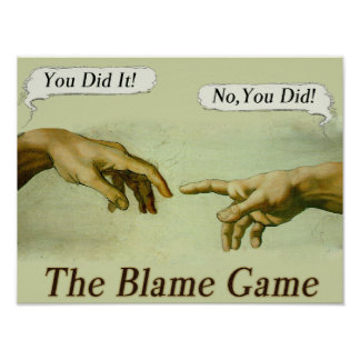 The Blame Game Poster