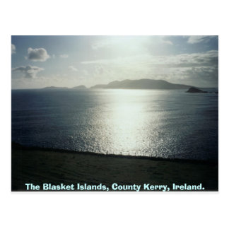 The Blasket Islands,  County Kerry, Ireland Postcard