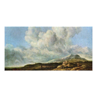 The Blast By Ruisdael Jacob Isaaksz. Van Personalized Photo Card