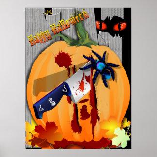 The Bleeding Pumpkin Poster