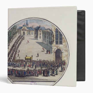 The Blessed Sacrament being carried 3 Ring Binder