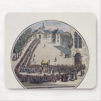 The Blessed Sacrament being carried Mouse Pad