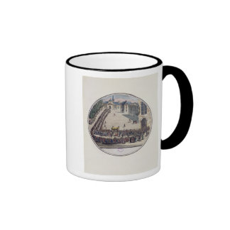 The Blessed Sacrament being carried Coffee Mugs