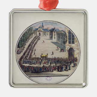 The Blessed Sacrament being carried Christmas Tree Ornaments