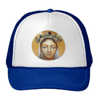 The Blessed Virgin Mary Statue ( May Crowning ) Trucker Hat